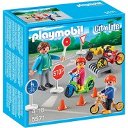 Playset AREA SCUOLA GUIDA in ASILO City Life PLAYMOBIL 5571