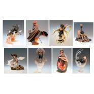 RARO Set COMPLETO CON ARCADIA 8 Figure Statuette Varianti CAPITAN HARLOCK Galaxy 999 Trading Figures HAPPINET