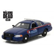 Modellino 2001 FORD CROWN VICTORIA Police Interceptor THE WALKING DEAD Scala 1:43 GREENLIGHT