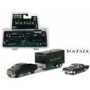 MATRIX Set Modellino 2015 FORD F150 e 1995 LINCOLN CONTINENTAL con RIMORCHIO Scala 1/64 Greenlight