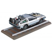 RITORNO AL FUTURO Parte 3 Kit Modello Auto DELOREAN Road e Railroad version 1/24 Aoshima BTTF Pt.3 011874