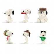 SET 6 Diverse Figure 5cm SNOOPY E AMICI 22060 Peanuts And Friends Originali Schleich