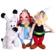 Set Completo 3 PELUCHE 22cm Personaggi SUPER PIGIAMINI PJ MASKS Gattoboy + Gufetta + Geco