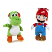 Set 2 Plushies SUPER MARIO + YOSHI Green 27cm ORIGINAL Official SOFT TOYS