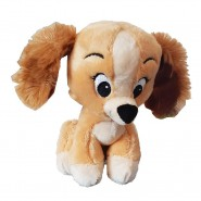 Plush LADY 18cm from LADY AND THE TRAMP Original DISNEY Animal Tales Cute
