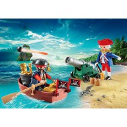 Playset Valigetta PIRATA Contro SOLDATO Pirate Raider PLAYMOBIL 9102 Pirates