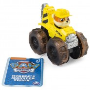RUBBLE Racer Car ROADSTER Serie RACERS Vehicle 10cm With Figure PAW PATROL Original Spin Master