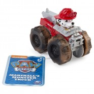 RUBBLE Racer Car MONSTER TRUCK Serie RACERS Vehicle 10cm With Figure PAW PATROL Original Spin Master