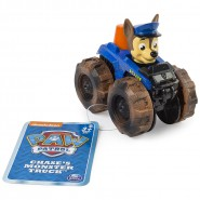 CHASE Racer Car MONSTER TRUCK Serie RACERS Vehicle 10cm With Figure PAW PATROL Original Spin Master