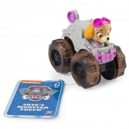 SKYE Racer Car MONSTER TRUCK Serie RACERS Vehicle 10cm With Figure PAW PATROL Original Spin Master