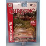Modellino Auto 8cm CHRISTINE Versione SPORCA Dirty Weathered Plymouth Fury MACCHINA INFERNALE Scala 1:64