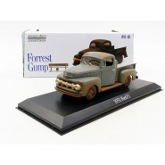 Modello DieCast Auto FORD F1 1951 Dal Film FORREST GUMP Scala 1/43 ORIGINALE Greenlight