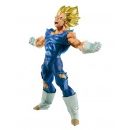 DRAGONBALL Z Figura Statua 17cm VEGETA BLOOD OF SAIYANS Originale Banpresto