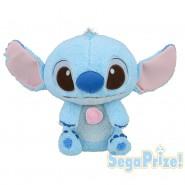 PLUSH Soft Toy STITCH BABY Ultra Soft Big 36cm 14'' DISNEY Lilo Stitch OFFICIAL Rare SEGA Japan