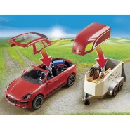 Playset PORSCHE Macan GTS with TRAILER and HORSES Playmobil 9376