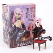 ONE PIECE Figura Statua 15cm PERHONA Girly Girls CALZE NERE BANPRESTO