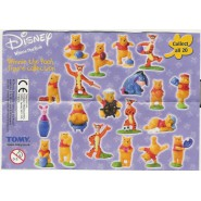 Rare SET 20 Figures 4cm WINNIE POOH Figure Collection TIGER PIGLET EEYORE Tomy Disney CAKE TOPPERS