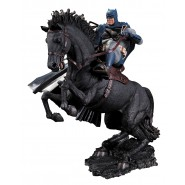 Statua Resina BATMAN Dark Knight A CAVALLO 36cm A CALL TO ARMS Originale DC COLLECTIBLES