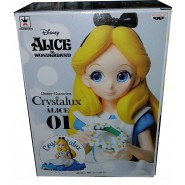 Figure Statue ALICE Wonderland 10cm (4'') Serie CRYSTALUX Original Banpresto Japan
