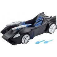 Modello BATMOBILE Auto Batman da JUSTICE LEAGUE Grande 40cm con doppio LANCIAMISSILI Originale MATTEL FDF02