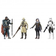 Special BOX 4 Figures Action JEHDA REVOLT Star Wars Rogue one Original HASBRO C1231