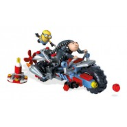 GRU WATER MOTORBIKE Building Blocks Playset MINIONS Despicable Me 3 KIT Mega Bloks