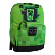 MINECRAFT School BACKPACK Big 44x31cm CREEPER GREEN Original OFFICIAL