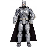 BATMAN con ARMATURA Figura Action GRANDE 30cm da BATMAN Vs SUPERMAN Dc Multiverse Collection MATTEL