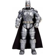 BATMAN con ARMATURA Figura Action GRANDE 30cm da BATMAN Vs SUPERMAN Dc Multiverse Collection MATTEL