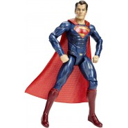 SUPERMAN Figura Action GRANDE 30cm da BATMAN Vs SUPERMAN Dc Multiverse Collection MATTEL