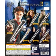 HARRY POTTER Set 6 Mini MAGIC WANDS for Collectors WAND COLLECTION 2 Tomy