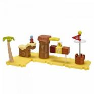 Playset Deluxe DESERTO Con Figura SUPER MARIO GHIACCIO Serie MICRO LAND World Of Nintendo
