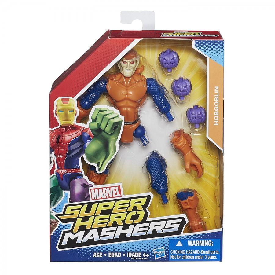 Action Figure 16cm HOBGOBLIN SpiderMan Marvel SUPER HERO MASHERS Hasbro