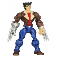 PLAYSET Giocattolo Figura Action 16cm WOLVERINE CON GIACCA Marvel SUPER HERO MASHERS Hasbro