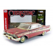 Modello DieCast 1/18 Plymouth Fury DIRTY Version da CHRISTINE MACCHINA INFERNALE Stephen King AUTOWORLD