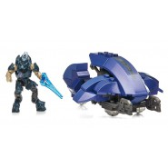 HALO Construction KIT Playset COVENANT COMMANDER Space Ship MEGA BLOKS