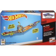 Wall TRACK PLAYSET Cars SPRINT SPEEDWAY Hot Wheels