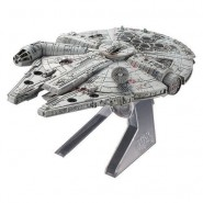 Nave Spaziale MILLENIUM FALCON Star Wars Modello DIECAST 15cm Originale HOT WHEELS ELITE CMC93