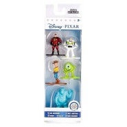 Set 5 Mini Figures DISNEY PIXAR Metal 4cm INCREDIBLES TOY STORY MONSTERS INC Original JADA Toys NANO Metalfigs