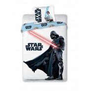 STAR WARS Set Letto DARTH VADER Luke Skywalker 140x200 Copripiumino COTONE DISNEY