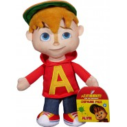 ALVIN And the CHIPMUNKS Plush Peluche ALVIN 22cm 9'' Original Fisher Price