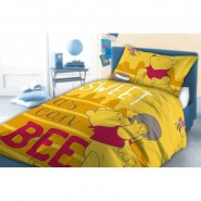 Bed Set FLANNEL Duvet Cover CINDERELLA 160x200cm Original DISNEY