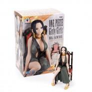 ONE PIECE Figura Statua 15cm PERHONA Girly Girls CALZE NERE BANPRESTO