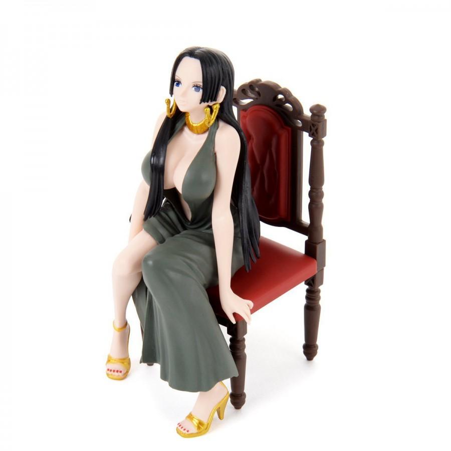 One Piece Figure Statue 12cm Boa Hancock Girly Girls Green