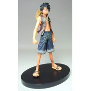 One Piece RARA Figura RUFY Luffy Lufy Originale GRANDLINE MEN Volume 1 Banpresto