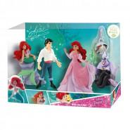 Disney LA SIRENETTA Box STORY Pack SERIE Completa 4 Figure ARIEL PRINCIPE URSULA Originali BULLYLAND