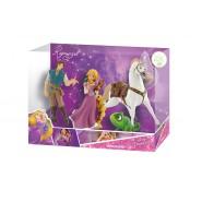 Disney RAPUNZEL Box STORY Pack SERIE Completa 4 Figure RAPERONZOLO FLYNN MAXIMUS PASCAL Originali BULLYLAND
