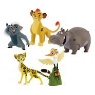 Disney THE LION GUARD Box STORY Pack SERIE Completa 5 Figure Originali BULLYLAND Re Leone