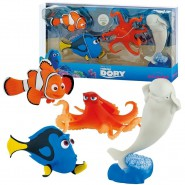 Disney FINDING DORY Box STORY Pack Complete SET 4 Figures NEMO HANK BAILEY Original BULLYLAND