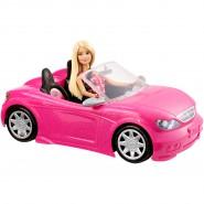 BARBIE con AUTO Glam CABRIOLET Cabrio ORIGINALE Mattel DJR55